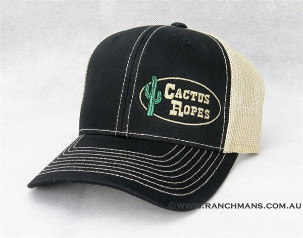 Cactus Ropes 174 Black Vegas Snapback Cap