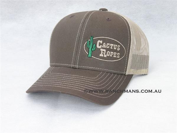 Cactus Ropes 174 Brown Amp Khaki Snapback Cap