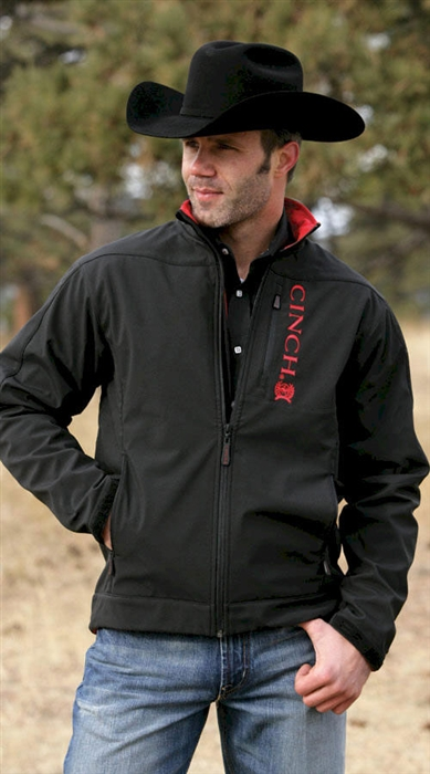Mens Cinch 174 Black Bonded Jacket