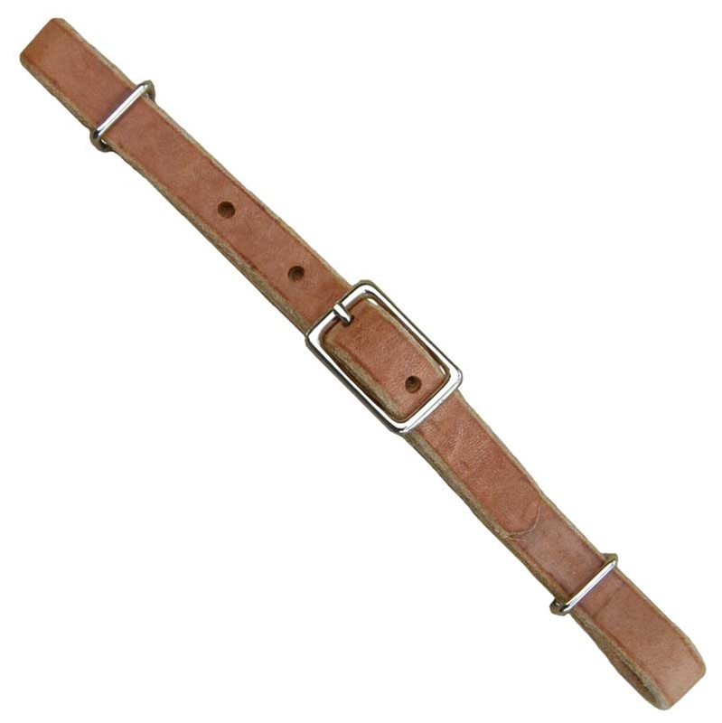 Ranchman S Russet Harness Leather Curb Strap