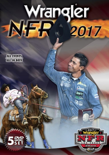 2017 Wrangler NFR - National Finals Rodeo DVD Set